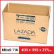 Thùng Carton gói hàng kích thước 400x355x275mm-4