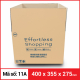 Thùng Carton gói hàng kích thước 400x355x275mm-3