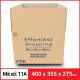 Thùng Carton gói hàng kích thước 400x355x275mm-2