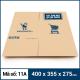 Thùng Carton gói hàng kích thước 400x355x275mm mẫu giỏ hàng-1