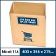 Thùng Carton gói hàng kích thước 400x355x275mm mẫu giỏ hàng-3