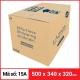 Thùng Carton gói hàng kích thước 500x340x320mm-6