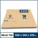 Thùng Carton gói hàng kích thước 500x340x320mm mẫu giỏ hàng-3
