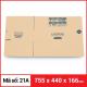 Thùng Carton gói hàng kích thước 755x440x166mm-5