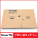 Thùng Carton gói hàng kích thước 770x570x210mm-2