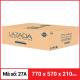 Thùng Carton gói hàng kích thước 770x570x210mm-5