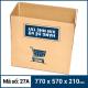 Thùng Carton gói hàng kích thước 770x570x210mm mẫu giỏ hàng-3