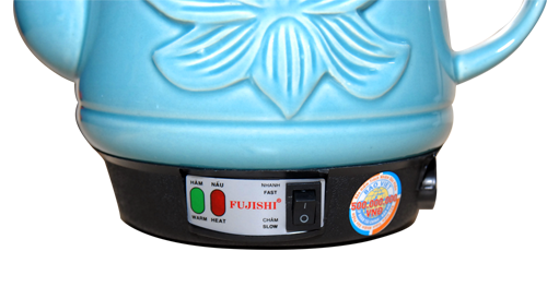 giá Ấm sắc thuốc bắc bằng điện Fujishi 2.8 Lít xanh ngọc