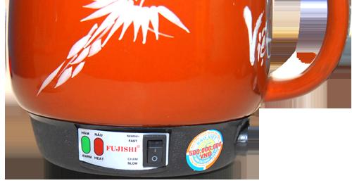 Siêu sắc thuốc bắc bằng điện Fujishi 3.2 Lít