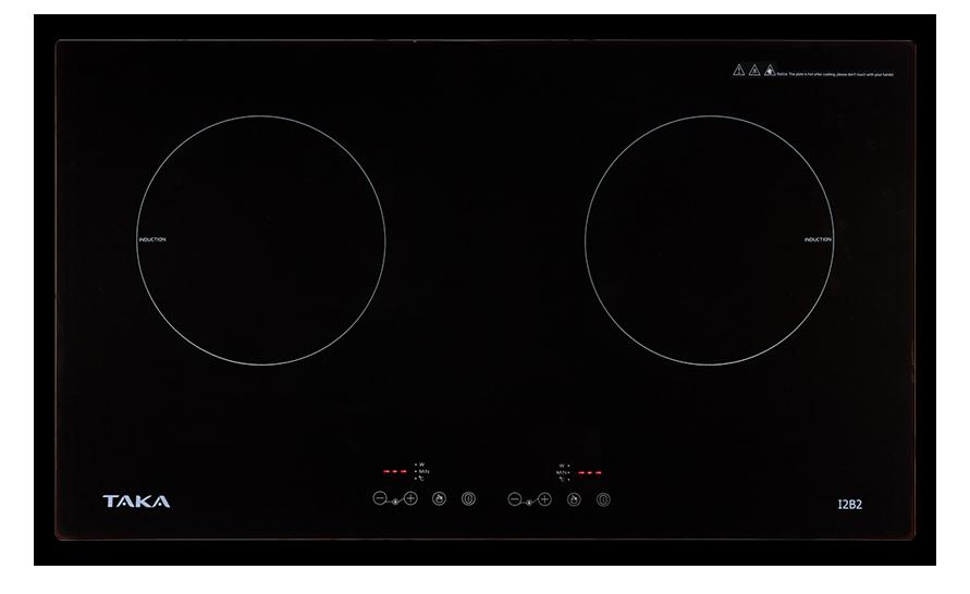 Bếp điện từ đôi Taka TK-I2B2