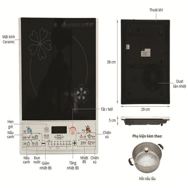 Bếp điện từ Midea MI-SV21DN