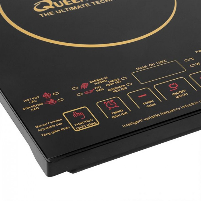 Bếp điện từ QueenHouse QH-1080C-2