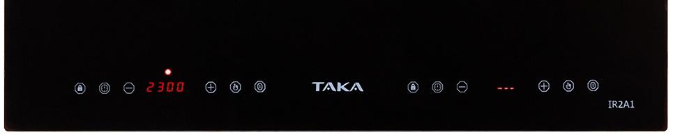 Bếp đôi hồng ngoại điện từ Taka TK-IR2A1