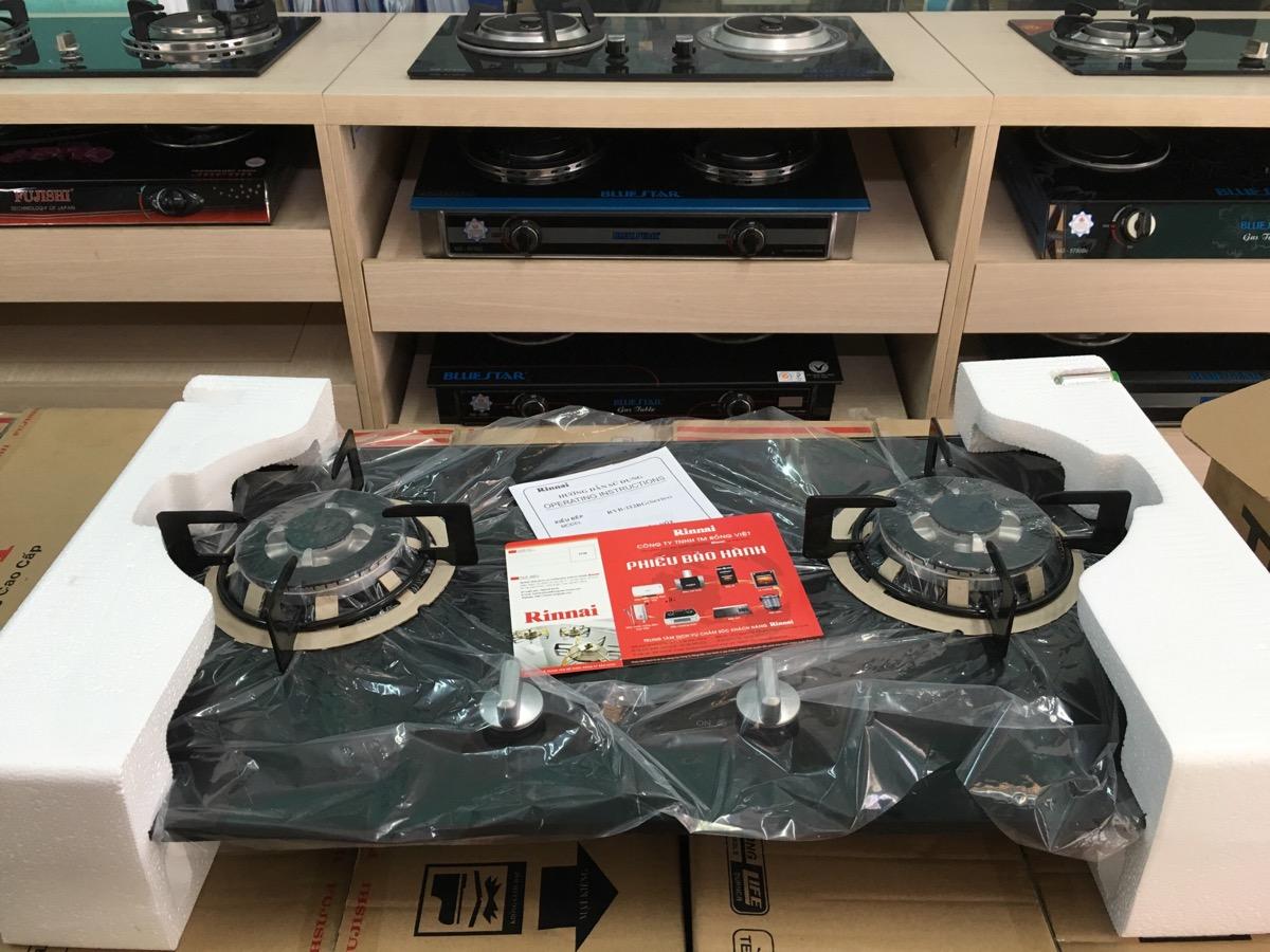 Bếp ga âm Rinnai RVB-212bg nhập khẩu nhật bản giá rẻ