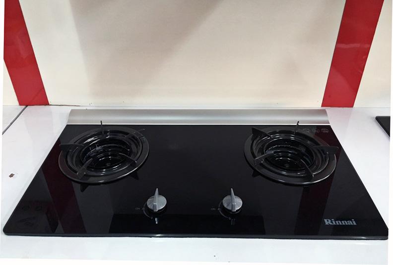 Bếp ga âm rinnai rvb-2gib chính hãng Nhật Bản
