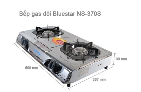 Bếp gas Bluestar NS-370S/F