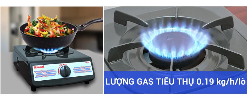 khuyến mãi Bếp gas đơn Rinnai RV-150