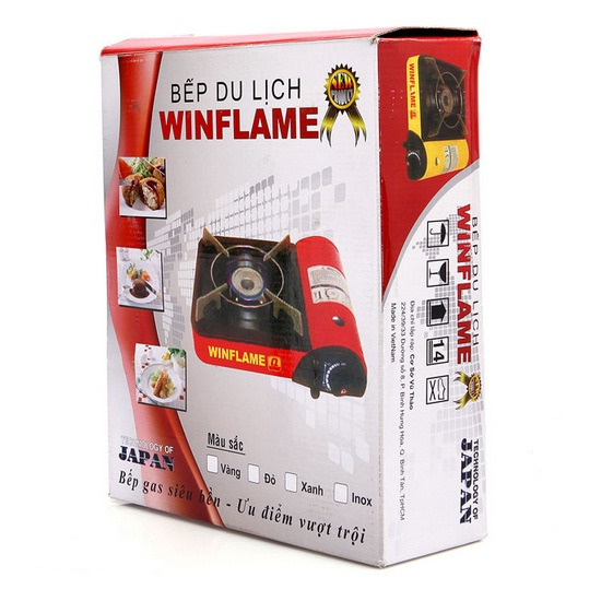 Bếp gas du lịch Winflame WF-1139I (Inox)