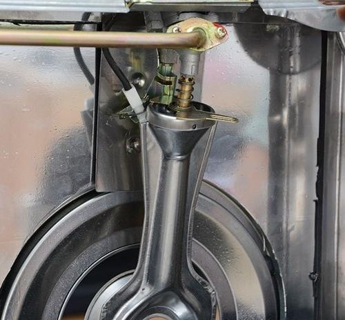 Bếp gas dương Kiwa KW-770SG - Điếu Inox