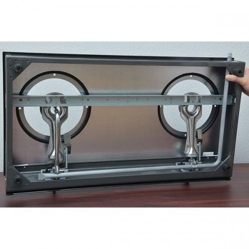 Bếp gas Rinnai RV-7Double Glass(L)