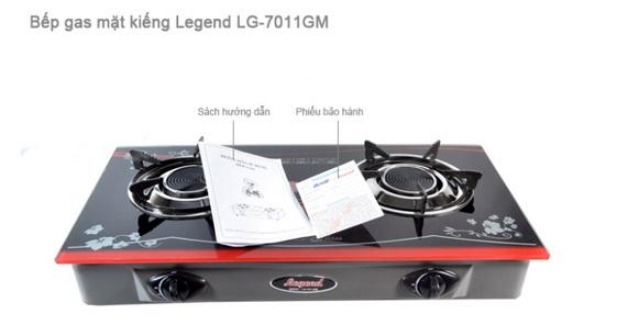 Bếp gas hồng ngoại Legend LG-7011GM - Điếu gang