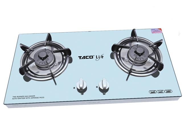 Đại lý bếp gas khung hộp inox Taco LF-610