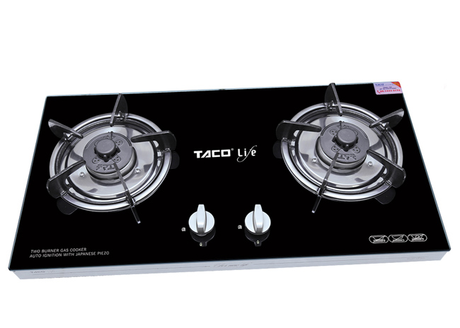 bếp gas khung hộp inox Taco LF-610 giá rẻ
