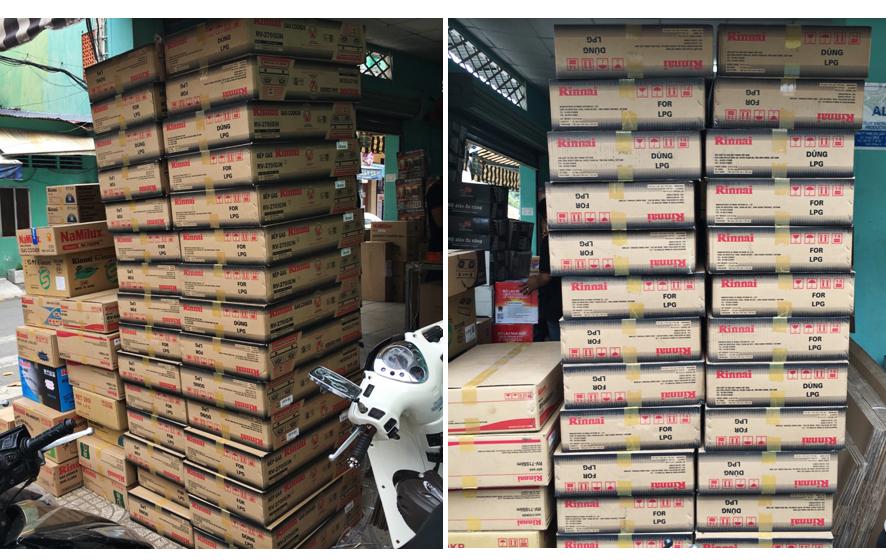 Đại lý bếp gas rinnai nhập khẩu chính hãng tại Tp HCM