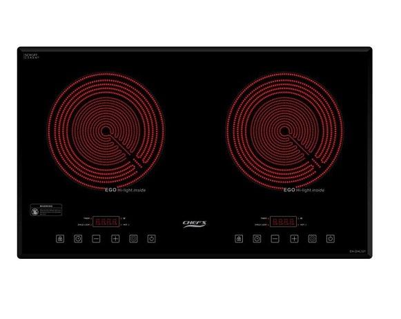 Bếp hồng ngoại đôi Chef's EH-DHL321