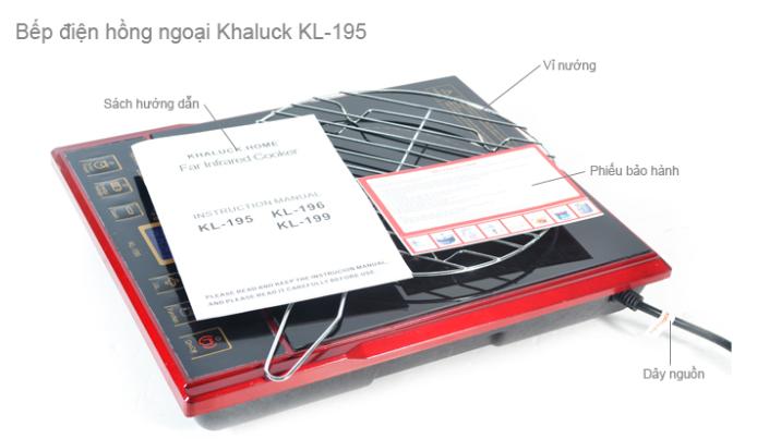 Bếp hồng ngoại Khaluck KL-195