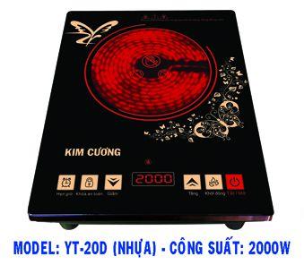 Bếp hồng ngoại Kim Cương YT-20D - N