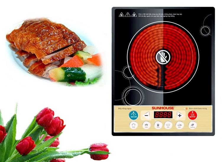 Bếp hồng ngoại Sunhouse SHD6002