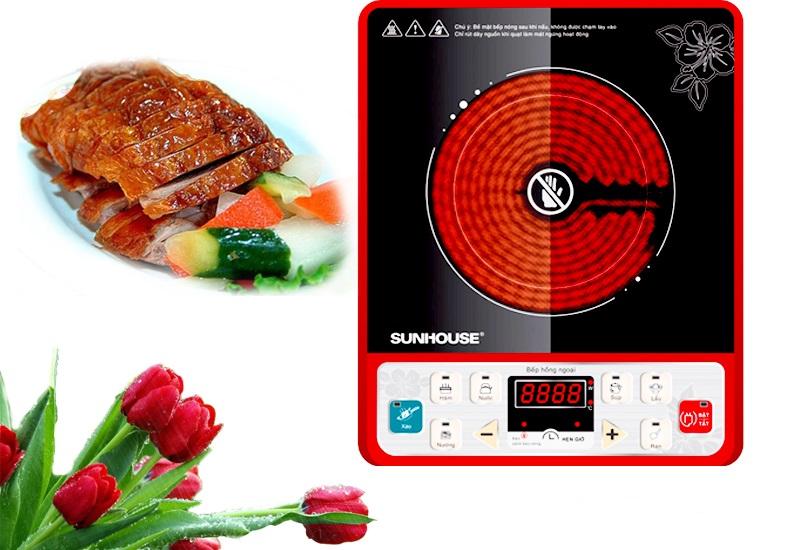 Bếp hồng ngoại Sunhouse SHD6003