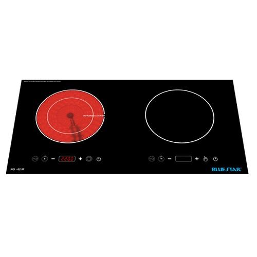 Bếp hồng ngoại và điện từ Bluestar NG-02IRA