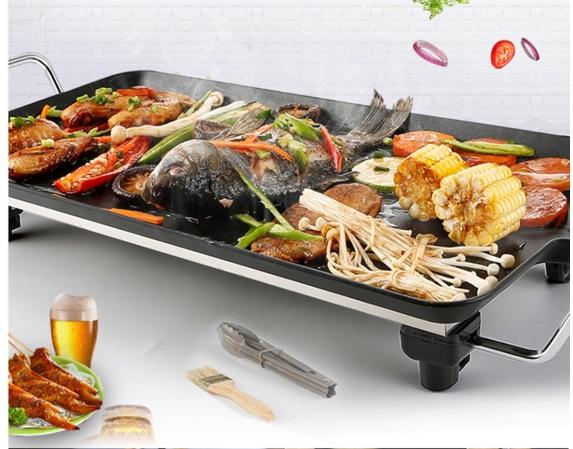 Vỉ nướng điện đa năng Electric Barbecue Plate DS-6048