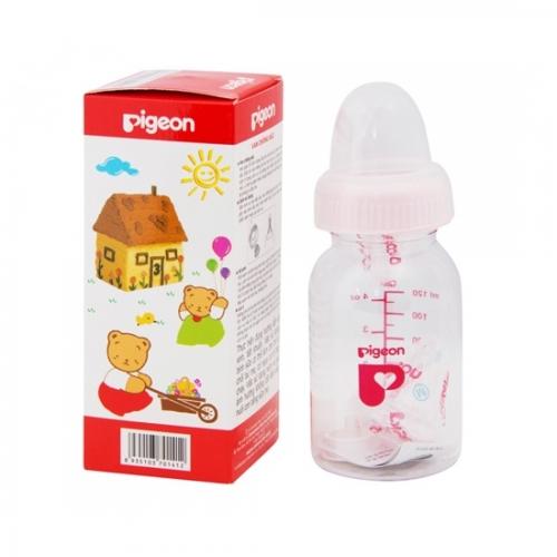 Bình sữa tròn Pigeon RP4 120ml