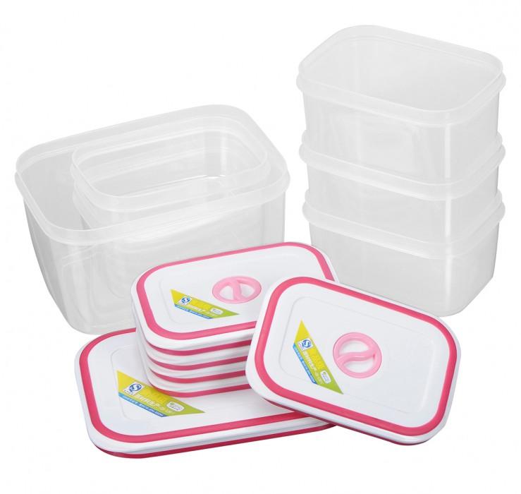 Bộ 6 hộp nhựa Homio PL 13-002