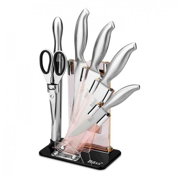 Bộ dao kéo làm bếp 7 món Bass IN.01-002