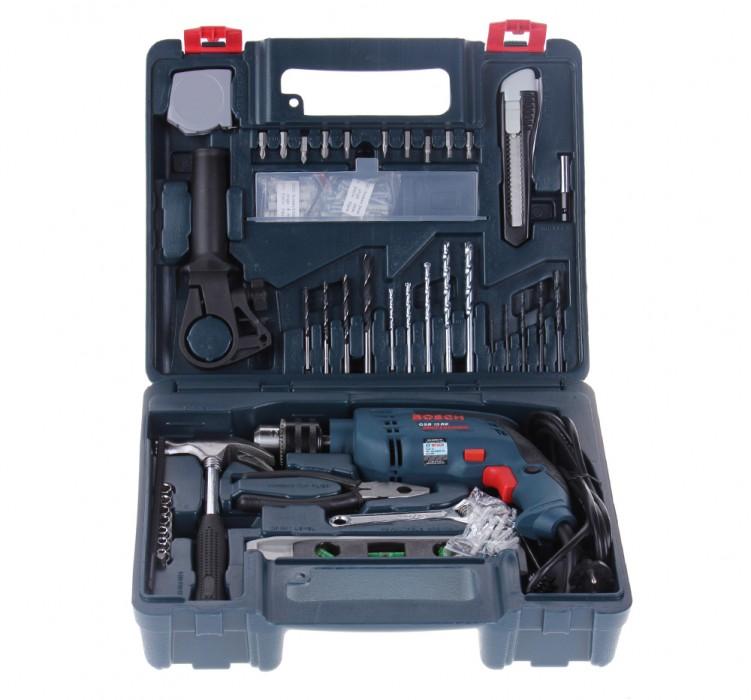 Bộ dụng cụ Máy khoan Bosch GSB 13 RE 100 chi tiết