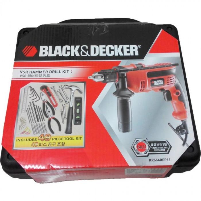 Bộ máy khoan búa Black&Decker KR554REP11-B1