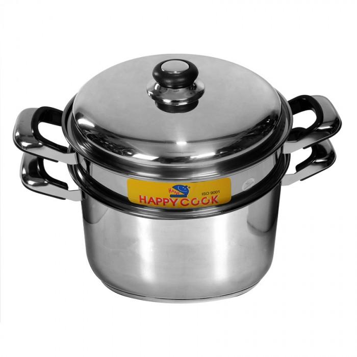 Bộ nồi xửng Inox Happy Cook ST-24
