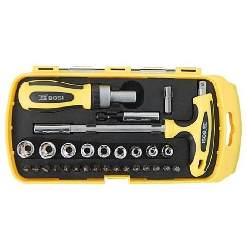 Bộ tua vít đa năng 29 món Bosi Tools BS463029
