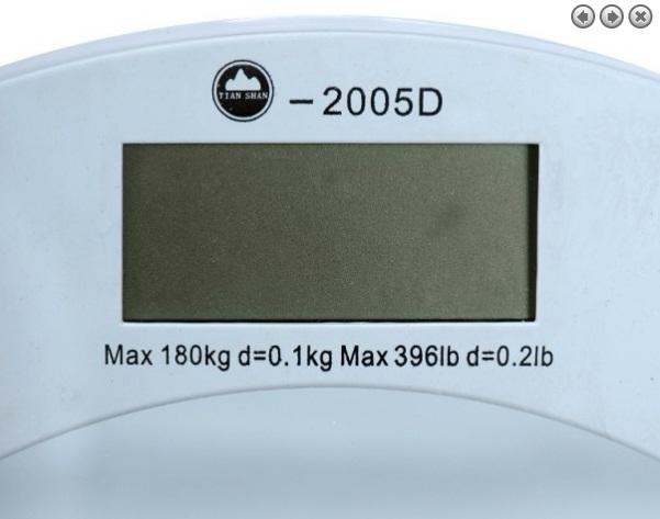 Cân Sức Khỏe Điện Tử Person scale 2005D