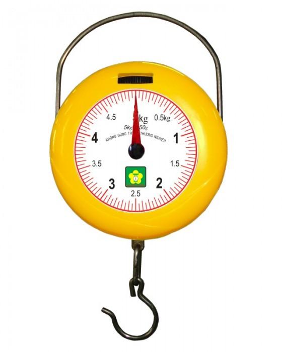 Cân treo mini bỏ túi Nhơn Hòa 5kg-1 Mặt số NHMGS-5