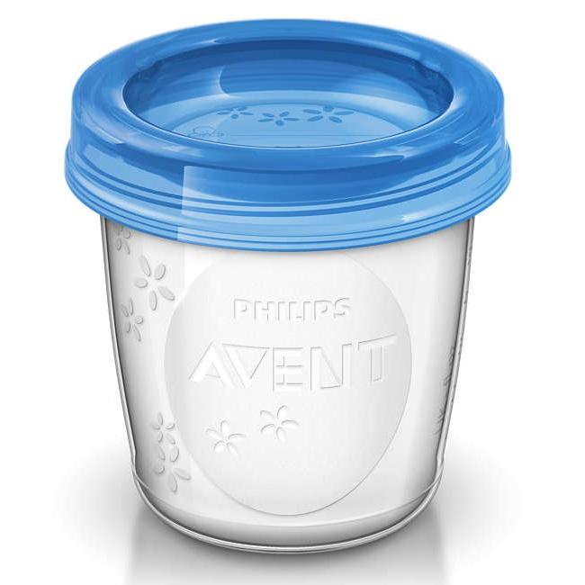 Cốc trữ sữa VIA Philips Avent SCF618.10