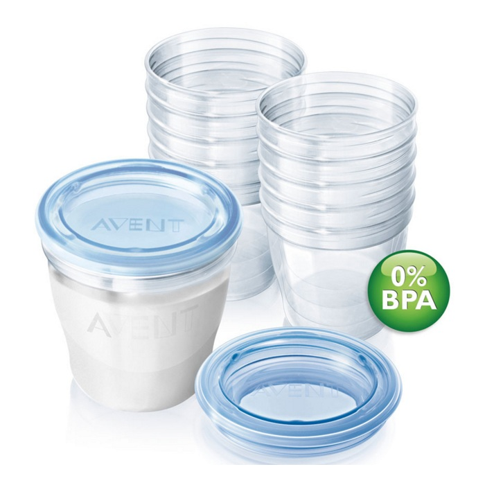 Cốc trữ sữa VIA Philips Avent SCF619.05