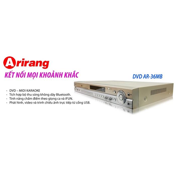 Đầu DVD Karaoke Arirang AR-36MB hcm