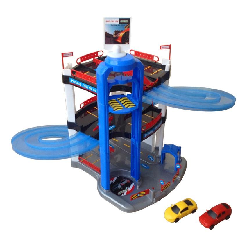Đồ chơi trẻ em - M1517-BB11-2 (Đồ chơi xe đua nhỏ trượt trên đường ray K.1)