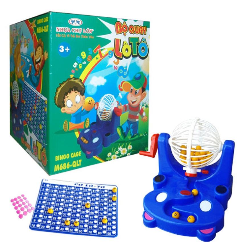 Đồ chơi trẻ em - M686-QLT (Bộ quay Lô Tô)