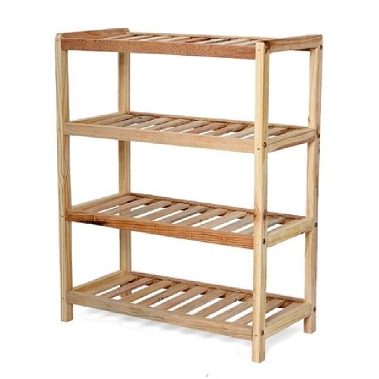 Mua Kệ để giày khung gỗ đa năng 4 tầng Long Phú GH12
